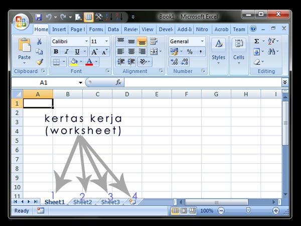 Membuat Nomor Urut Pada Microsoft Excel Secara Manual
